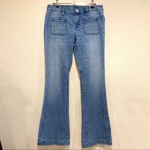 Tommy Hilfiger Flare Jeans (size: 6)